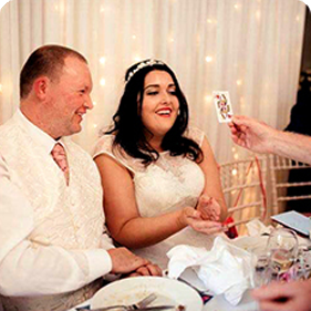 Wedding Magician | Wedding Entertainer | Wedding Magic Shows